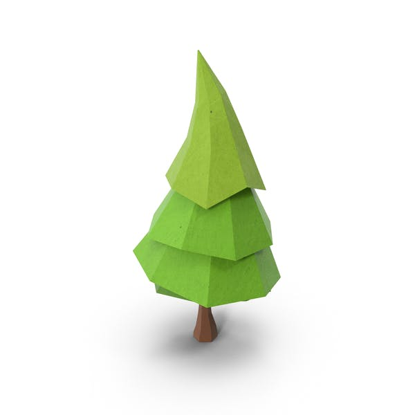 Cover Image for Low Poly Pine Tree