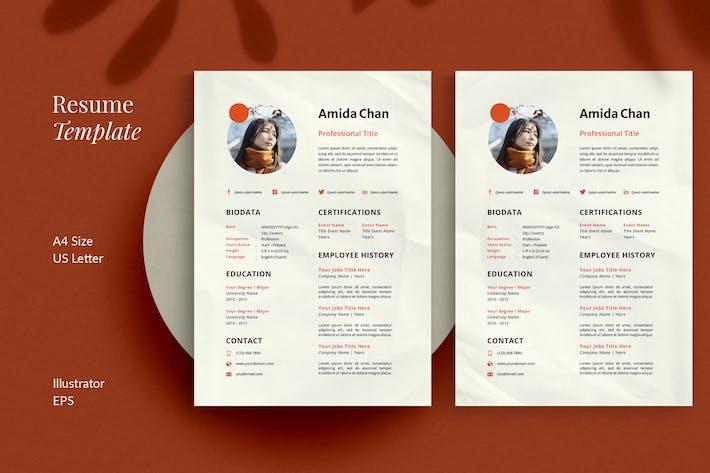 Thumbnail for CV Resume | Modern
