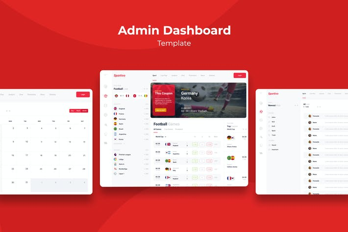 Cover Image For Admin Templates