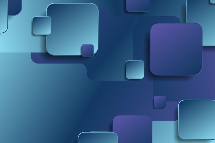 Thumbnail for Blue and violet geometric squares background