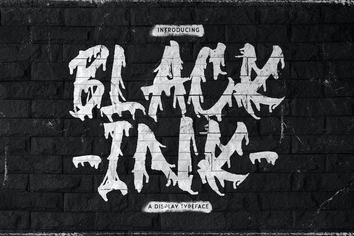 Thumbnail for Blackink - Fuente de visualización de pincel de calle