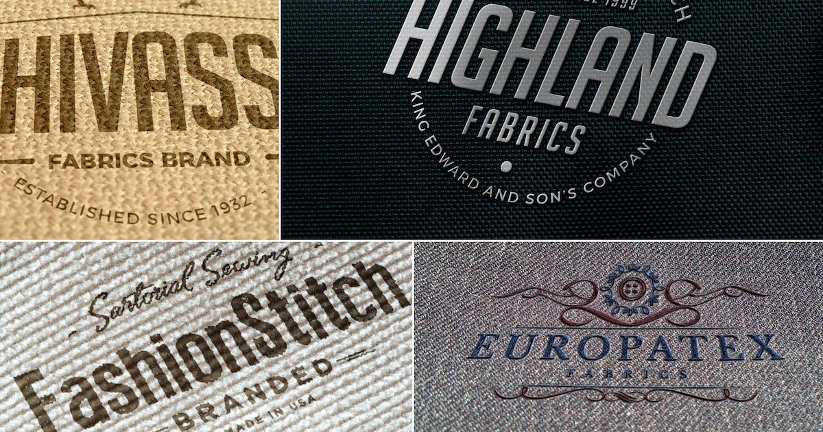 Download Impressive Fabric Logo Mockups by zippypixels