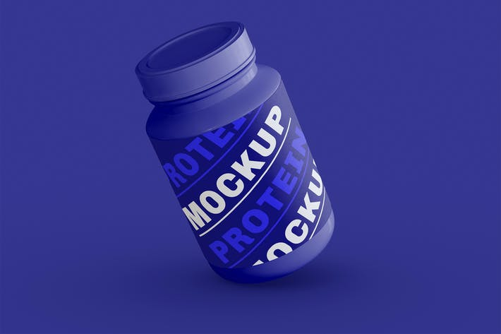 Proteinglas Mockup
