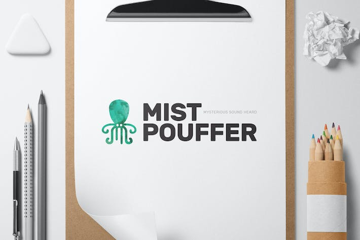 Thumbnail for Mistpouffer logo template