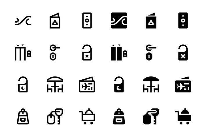 Cover Image For 24 Travel Icons