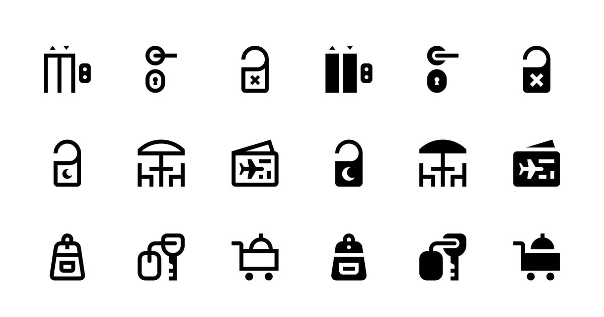 Download 24 Travel Icons by polshindanil