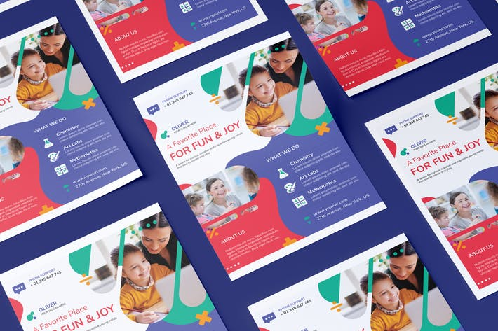 Thumbnail for Kids Flyer PSD Template