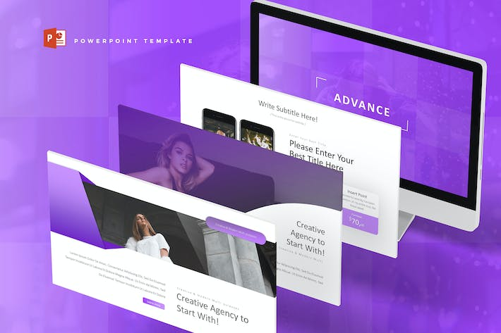 Thumbnail for Advance - Powerpoint Template