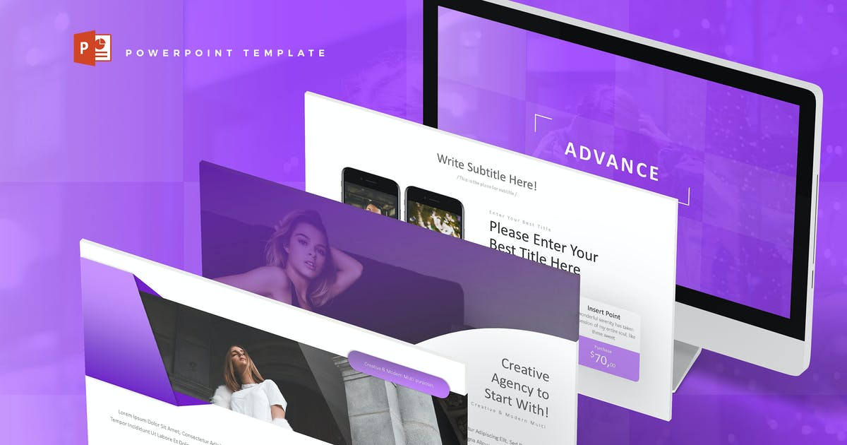 Download Advance - Powerpoint Template by aqrstudio