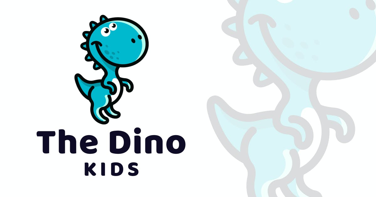 Download The Dino Kids Logo Template by IanMikraz