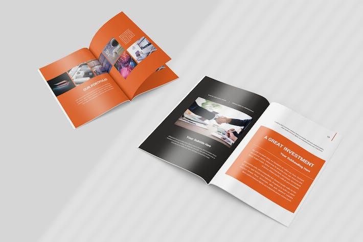 Cover Image For Desger - Company Profile Brochure Template
