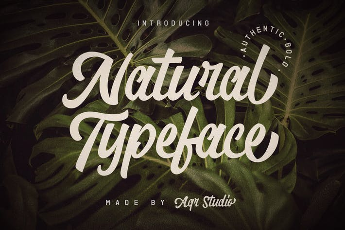 Thumbnail for Natural Typeface