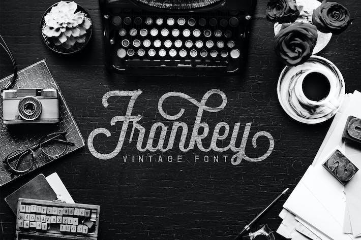 Thumbnail for Frankey Vintage Font