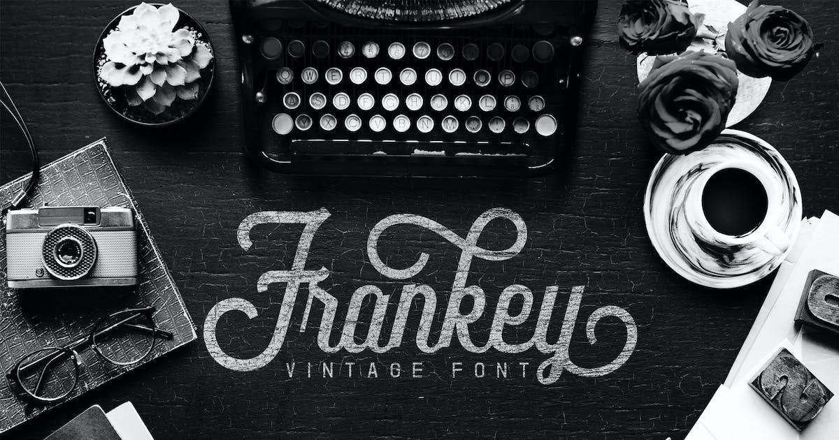 Download Frankey Vintage Font by aqrstudio