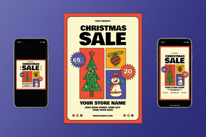 Thumbnail for Doodle Christmas Sale