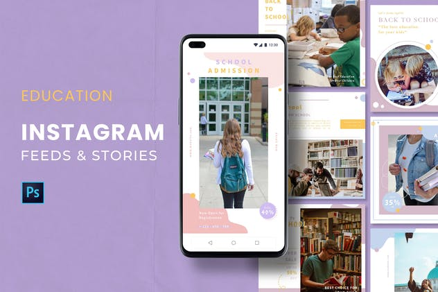 Education Instagram Feed & Stories