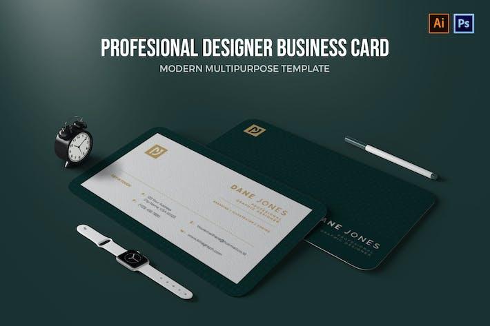 Thumbnail for Profesional Designerc - Business Card
