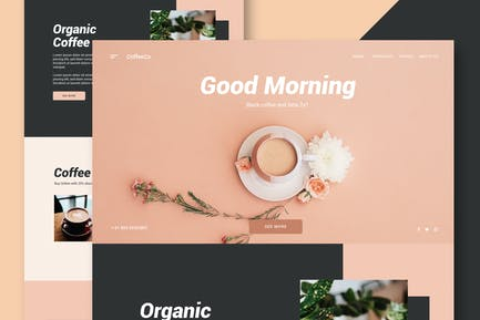 Coffee Shop - Website