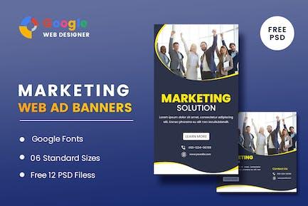 Marketing Banners Google Web Designer
