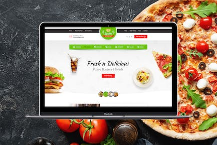 Spedito - Ordering Fast Food HTML Template