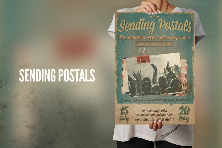Thumbnail for Sending Postals Flyer Poster