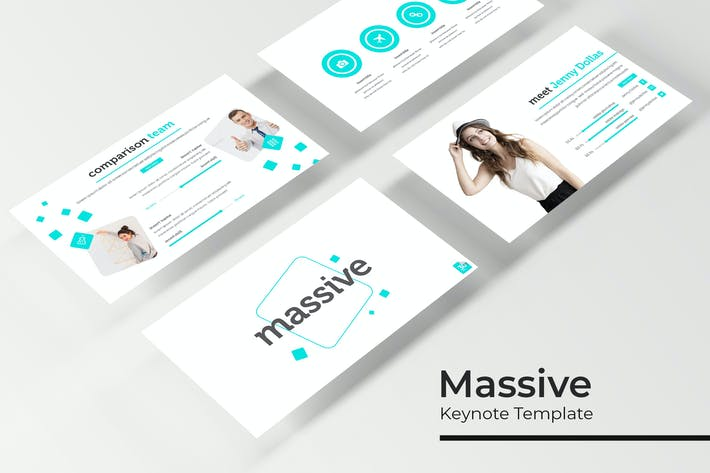Thumbnail for Massive - Keynote Template