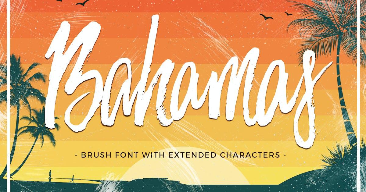 Bahamas Brush Font by ivanrosenberg