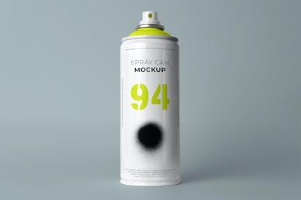 Spray Can Mockup