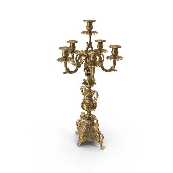 Baroque Candle Holder