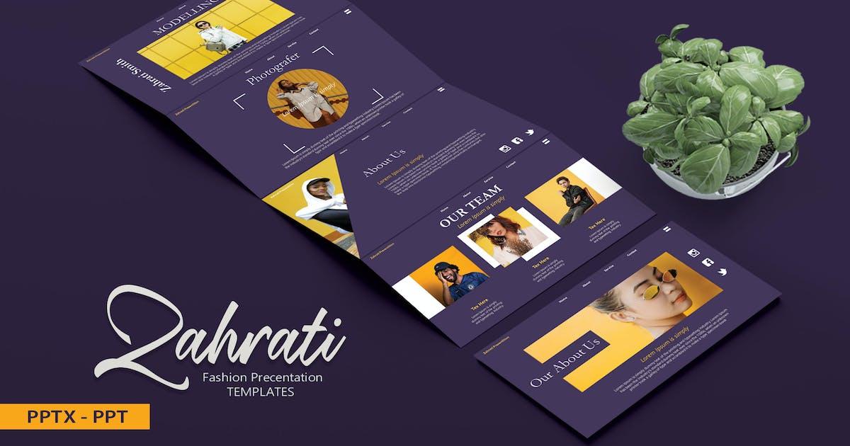 Download ZAHRATI Fashion - Powerpoint Template by joelmaker