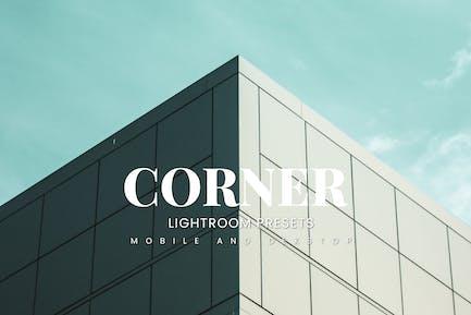 Corner Lightroom Presets Dekstop and Mobile
