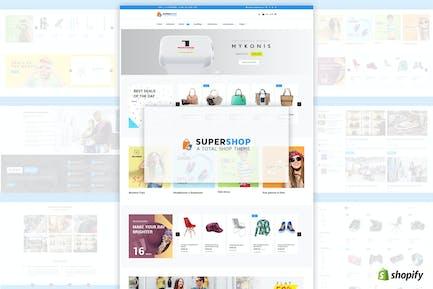 Super Shop | Multipurpose, MultiStore Shopify