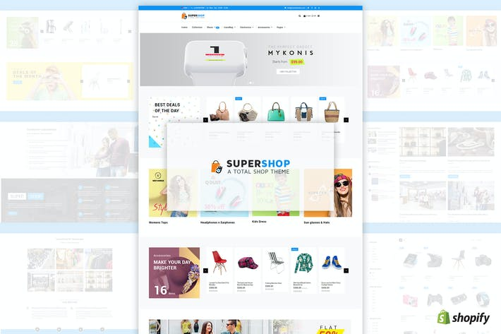 Super Boutique | Multi-usages, MultiStore Shopify