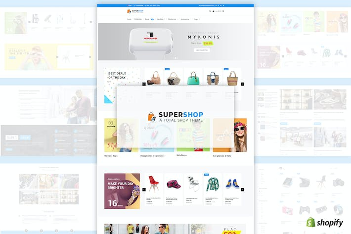 Download Shopify Templates Envato Elements - Shopify design templates