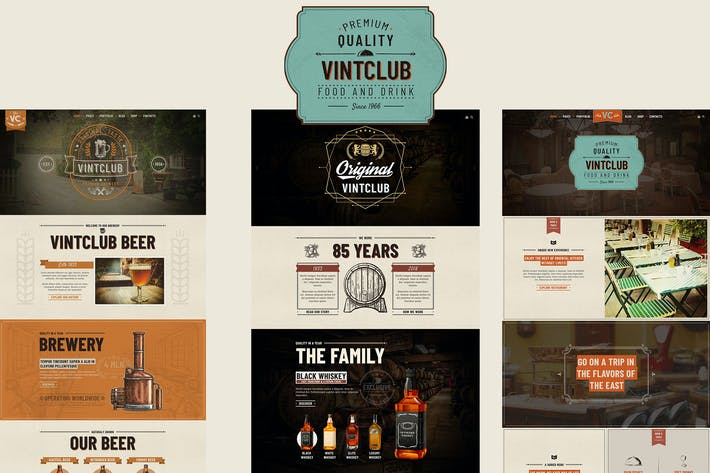 Thumbnail for VintClub - A Pub and Whisky Bar WordPress Theme