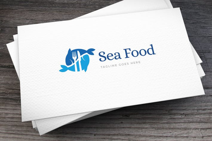 Thumbnail for Seafood Logo Template