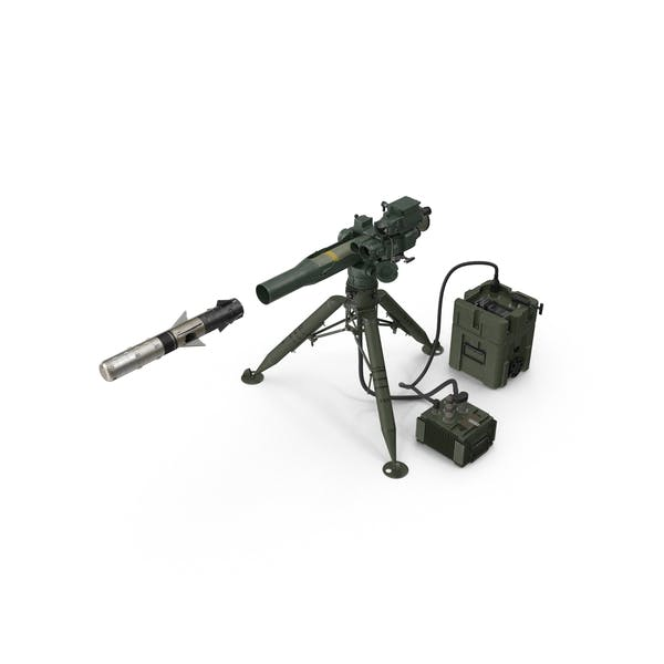 BGM 71F TOW Missile and Launcher