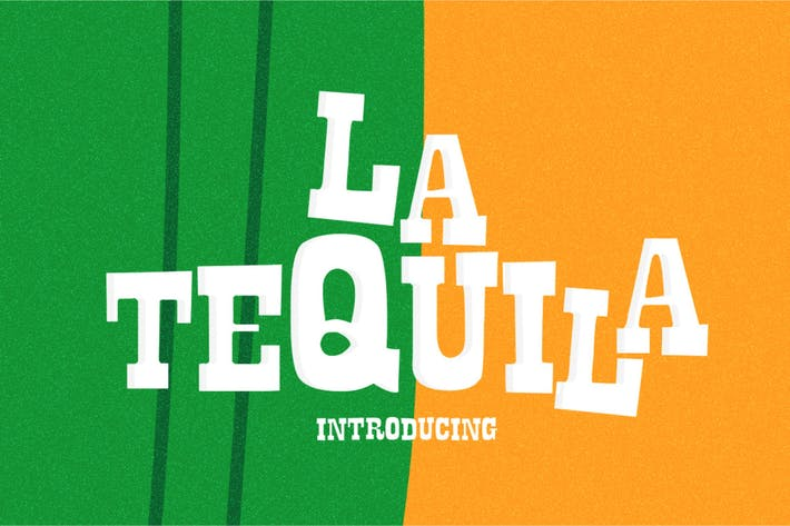 Thumbnail for La Tequila Typeface