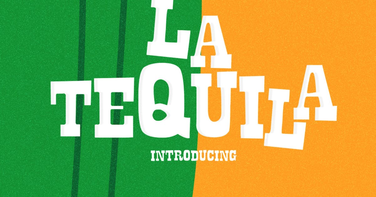 Download La Tequila Typeface by LeoSupply