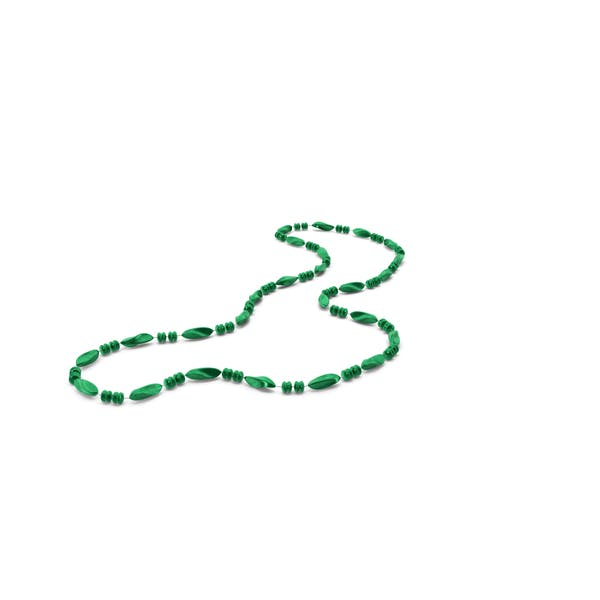 Thumbnail for Green Mardi Gras Beads