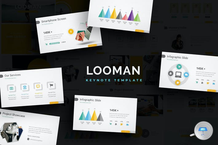 Thumbnail for Looman - Keynote Templates