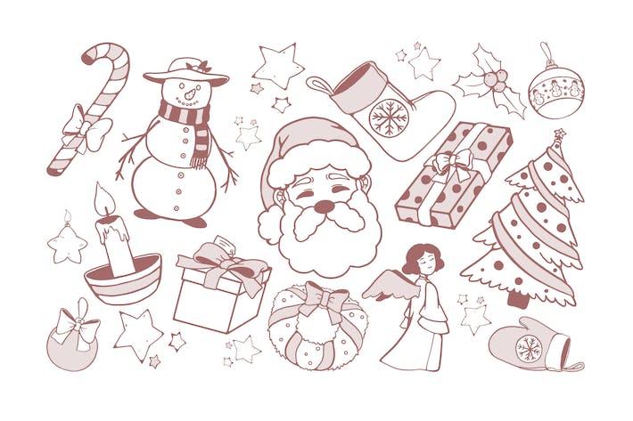 Thumbnail for Dessins de Noël Doodles