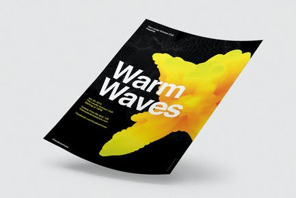 Warm Waves /  Flyer / Poster