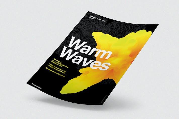 Thumbnail for Waves Warm Waves, Folleto, Poster