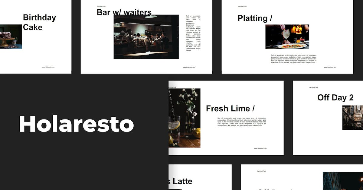 Download Holaresto - Powerpoint by graptailtype