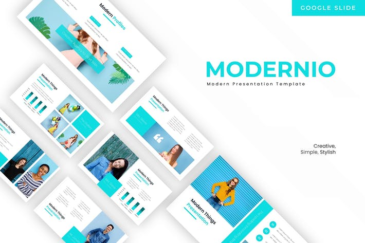 Thumbnail for Modernio - Google Slides Template