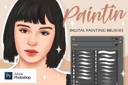 Paintin Brushes for Adobe Photoshop