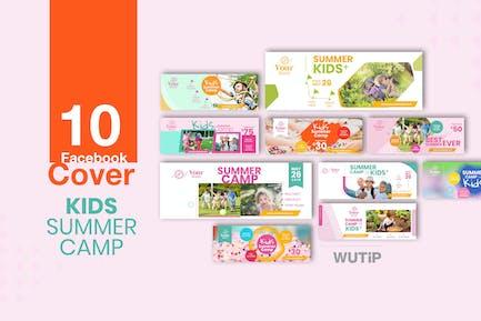 10 Facebook Cover - Kids Summer Camp