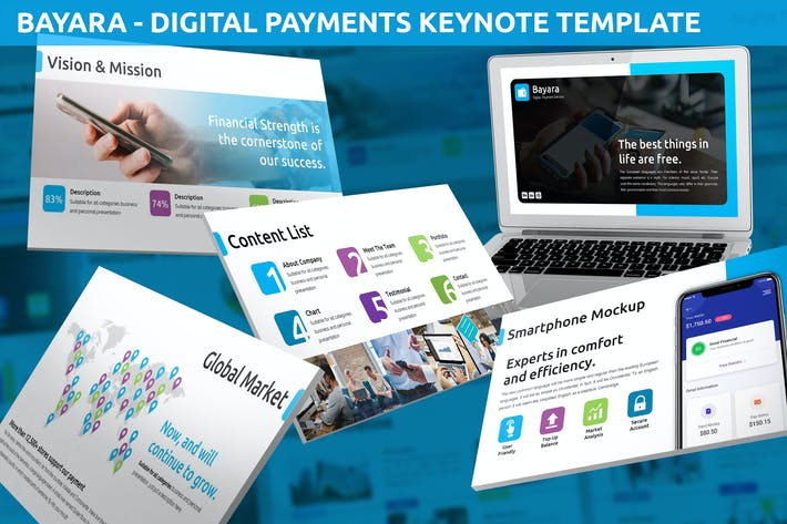Bayara - Digital Payments Keynote Template