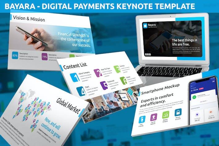 Thumbnail for Bayara - Digital Payments Keynote Template